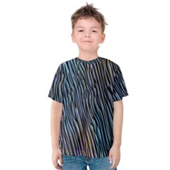 Abstract Background Wallpaper Kids  Cotton Tee