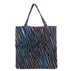 Abstract Background Wallpaper Grocery Tote Bag