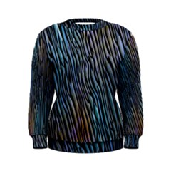Abstract Background Wallpaper Women s Sweatshirt