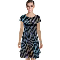 Abstract Background Wallpaper Cap Sleeve Nightdress