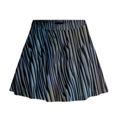 Abstract Background Wallpaper Mini Flare Skirt