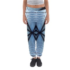 Dimension Metal Abstract Obtained Through Mirroring Women s Jogger Sweatpants