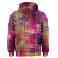 Background Abstract Weave Of Tightly Woven Colors Men s Pullover Hoodie