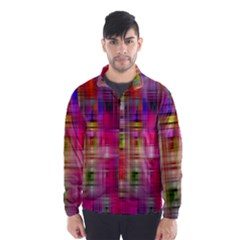 Background Abstract Weave Of Tightly Woven Colors Wind Breaker (men)