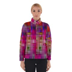 Background Abstract Weave Of Tightly Woven Colors Winterwear