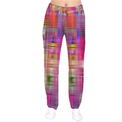 Background Abstract Weave Of Tightly Woven Colors Drawstring Pants