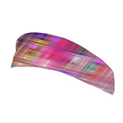 Background Abstract Weave Of Tightly Woven Colors Stretchable Headband