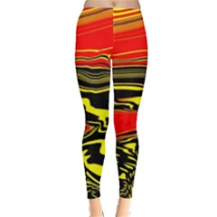 Abstract Clutter Leggings