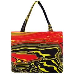 Abstract Clutter Mini Tote Bag