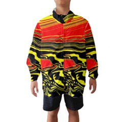 Abstract Clutter Wind Breaker (kids)