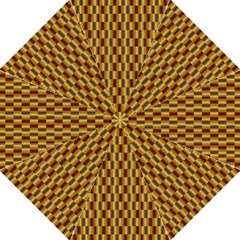 Gold Abstract Wallpaper Background Hook Handle Umbrellas (Large)