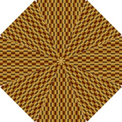 Gold Abstract Wallpaper Background Hook Handle Umbrellas (Small)