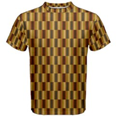 Gold Abstract Wallpaper Background Men s Cotton Tee