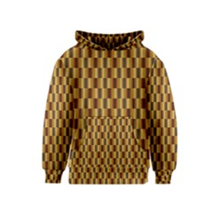 Gold Abstract Wallpaper Background Kids  Pullover Hoodie