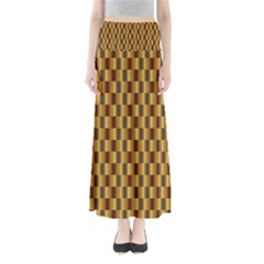 Gold Abstract Wallpaper Background Maxi Skirts