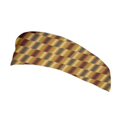 Gold Abstract Wallpaper Background Stretchable Headband
