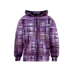 Purple Wave Abstract Background Shades Of Purple Tightly Woven Kids  Pullover Hoodie