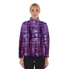 Purple Wave Abstract Background Shades Of Purple Tightly Woven Winterwear