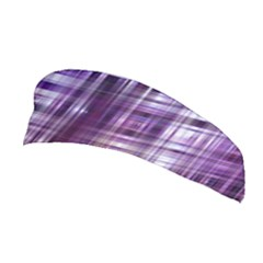Purple Wave Abstract Background Shades Of Purple Tightly Woven Stretchable Headband