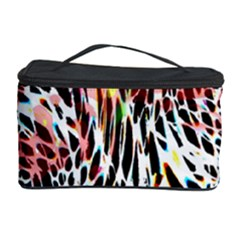 Abstract Composition Digital Processing Cosmetic Storage Case