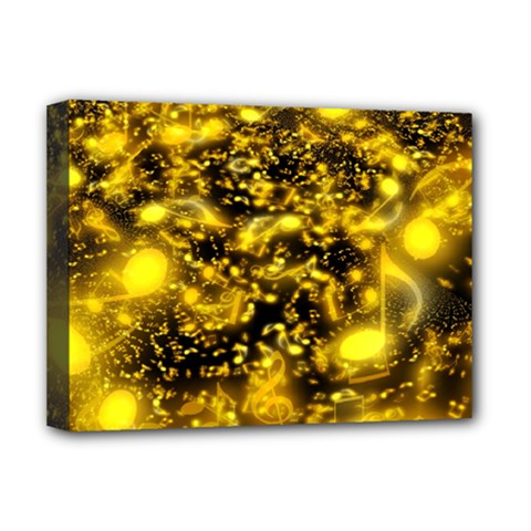Vortex Glow Abstract Background Deluxe Canvas 16  x 12