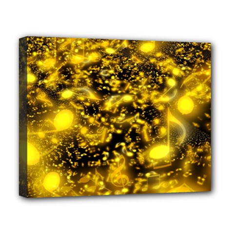 Vortex Glow Abstract Background Deluxe Canvas 20  X 16