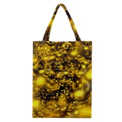 Vortex Glow Abstract Background Classic Tote Bag