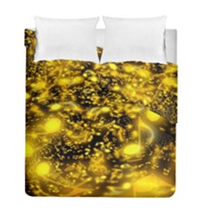 Vortex Glow Abstract Background Duvet Cover Double Side (full/ Double Size)