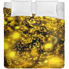 Vortex Glow Abstract Background Duvet Cover Double Side (king Size)