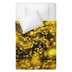 Vortex Glow Abstract Background Duvet Cover Double Side (single Size)