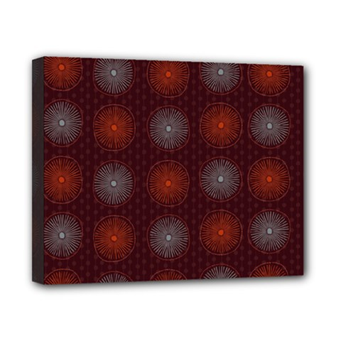 Abstract Dotted Pattern Elegant Background Canvas 10  x 8