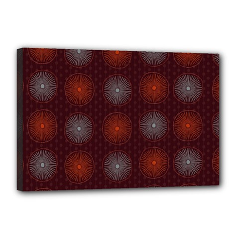 Abstract Dotted Pattern Elegant Background Canvas 18  X 12