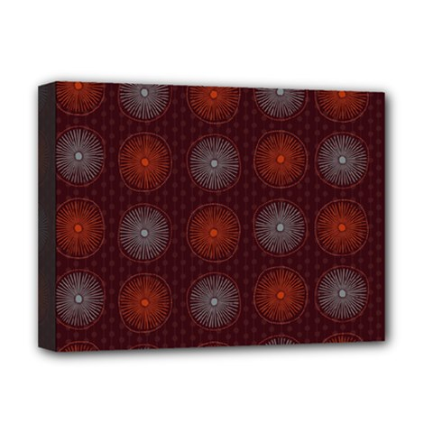 Abstract Dotted Pattern Elegant Background Deluxe Canvas 16  x 12