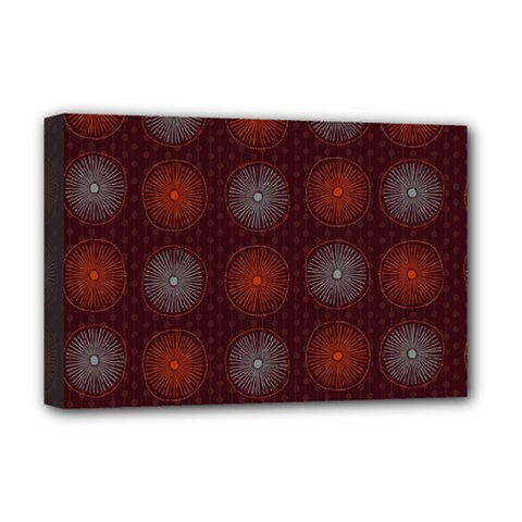 Abstract Dotted Pattern Elegant Background Deluxe Canvas 18  x 12