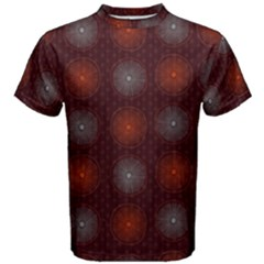Abstract Dotted Pattern Elegant Background Men s Cotton Tee