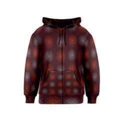 Abstract Dotted Pattern Elegant Background Kids  Zipper Hoodie
