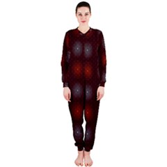 Abstract Dotted Pattern Elegant Background OnePiece Jumpsuit (Ladies)