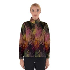 Abstract Brush Strokes In A Floral Pattern  Winterwear