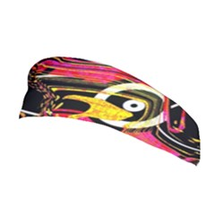 Abstract Clutter Pattern Baffled Field Stretchable Headband