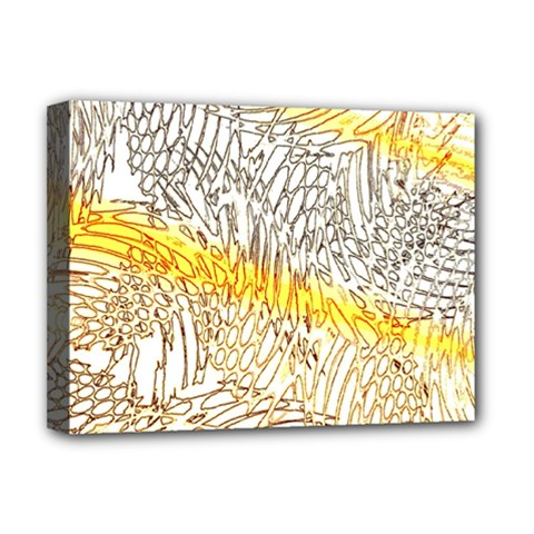 Abstract Composition Pattern Deluxe Canvas 16  x 12