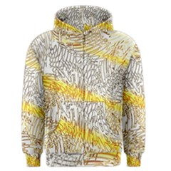 Abstract Composition Pattern Men s Zipper Hoodie