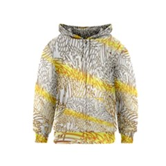 Abstract Composition Pattern Kids  Zipper Hoodie