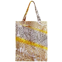 Abstract Composition Pattern Zipper Classic Tote Bag