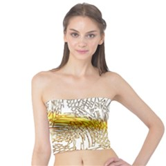 Abstract Composition Pattern Tube Top