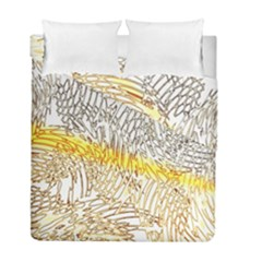 Abstract Composition Pattern Duvet Cover Double Side (full/ Double Size)