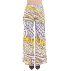 Abstract Composition Pattern Pants