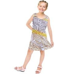 Abstract Composition Pattern Kids  Tunic Dress