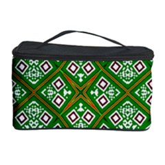 Digital Computer Graphic Seamless Geometric Ornament Cosmetic Storage Case