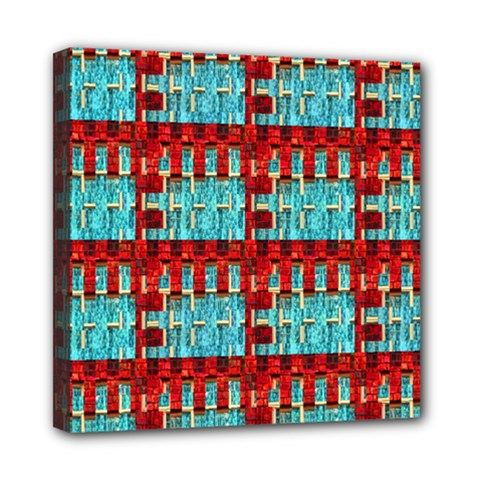 Architectural Abstract Pattern Mini Canvas 8  X 8
