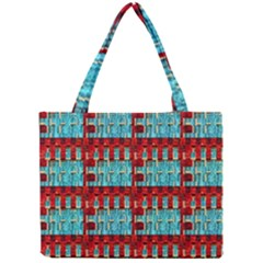 Architectural Abstract Pattern Mini Tote Bag